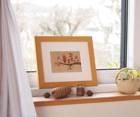 窓辺のトリ