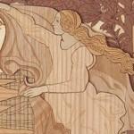 「ビーナスの誕生」の女神