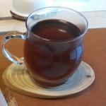 お茶を飲みながら...