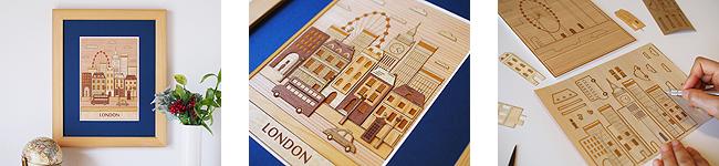 世界の街並みシリーズ「ロンドン」
