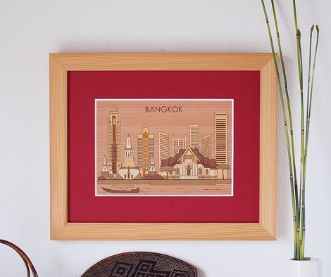 世界の街並みシリーズ「バンコク」
