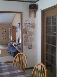 談話室と読書室