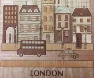 レーザーで抜いたロンドン