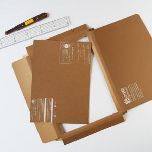 簡易額縁の作り方3