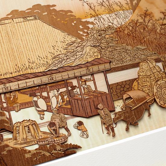東海道五十三次「大津 走井茶屋」